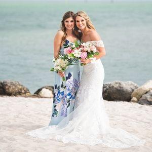 Show Me Your Mumu Floral Bridesmaid Dress